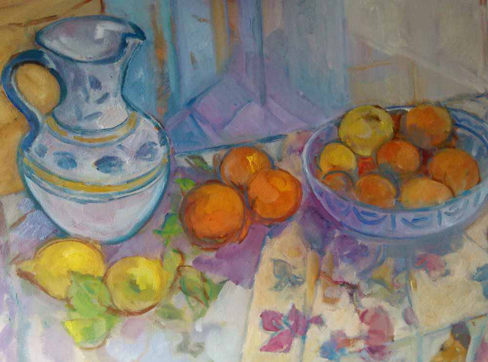 Still-life-with-oranges-61x50cms